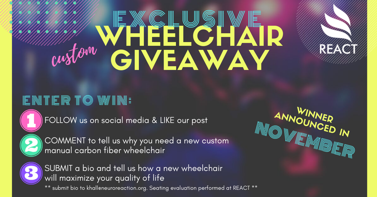 website wheelchair giveaway